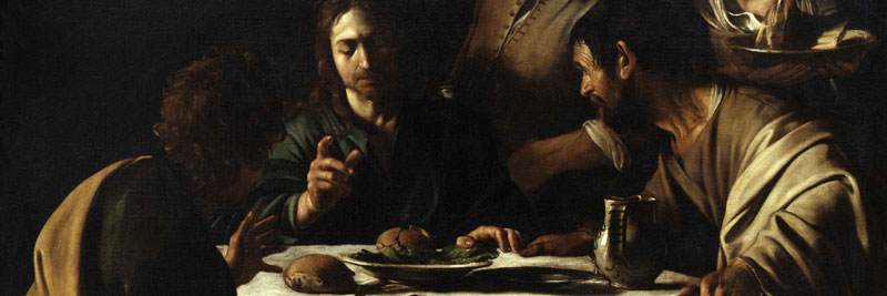 Caravaggio, The Supper at Emmaus, 1606